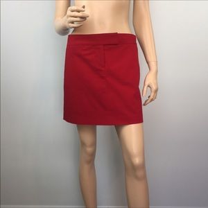 J. Crew Casual Red Mini Skirt 4